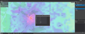HTZ Analyzer - map overlay