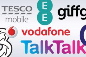 UK Mobile network operators