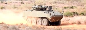 8X8 Dragon wheeled combat vehicle
