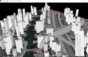 HTZC - 5G simulation using 3D map